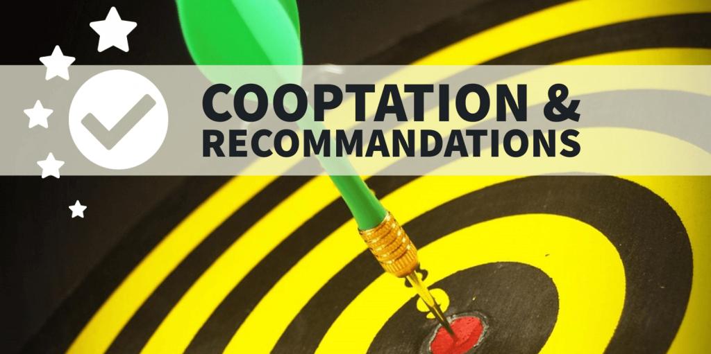 Cooptation recommandations trouver une mission en tant qu'indépendant