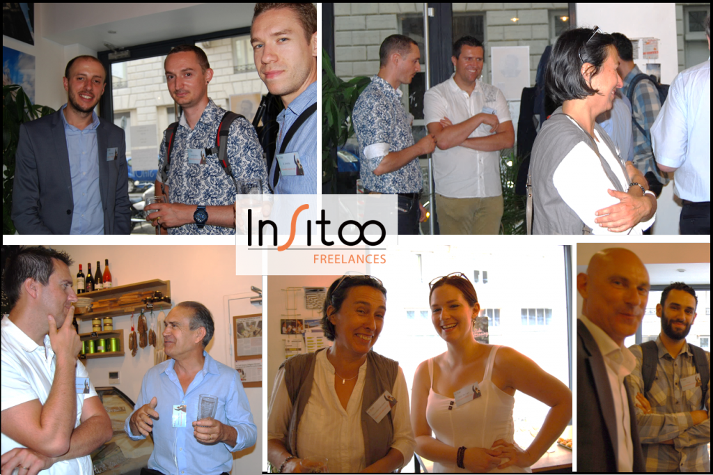 Premier afterwork freelance Insitoo à Lyon