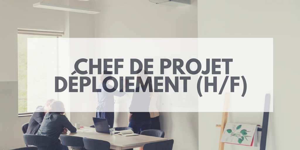 Chef De Projet Deploiement H F Insitoo Lille Mission