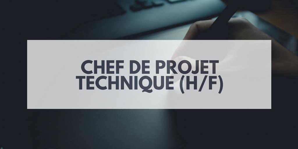 Chef De Projet Technique H F Insitoo Lille Mission Freelances