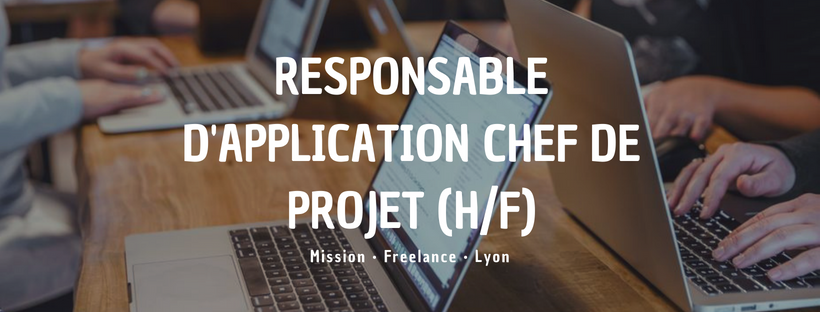 Responsable D Application Chef De Projet H F Insitoo Lille