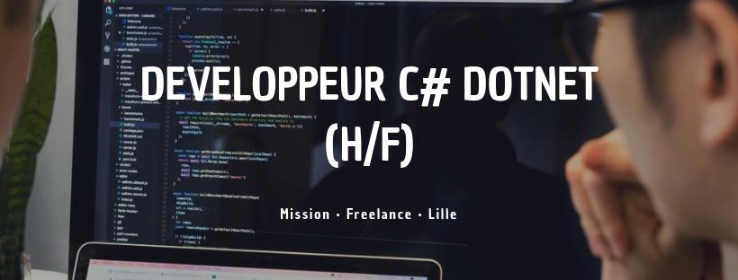 Developpeur C# DotNet