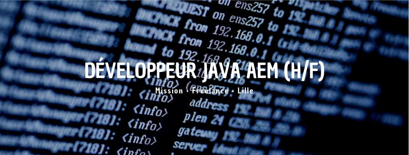 Développeur Java AEM