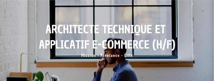 Architecte Technique et Applicatif E-commerce (H/F)