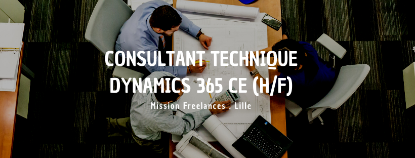 Consultant technique Dynamics 365 CE (H/F)
