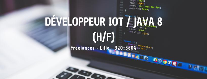 Développeur Iot / Java 8 (H/f)
