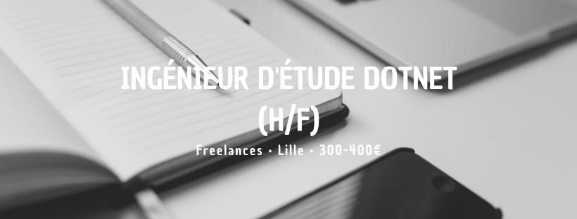 Ingénieur d'Étude DotNet (H/F)