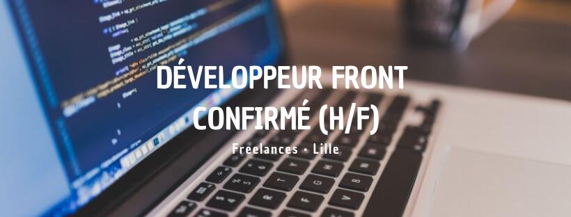 Développeur Front confirmé (H/F)