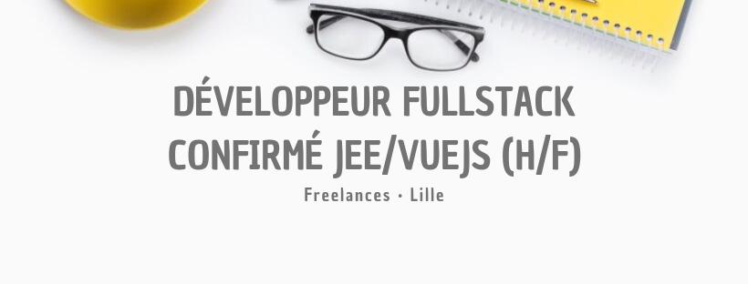 Développeur Fullstack confirmé JEE/VueJS (H/F)
