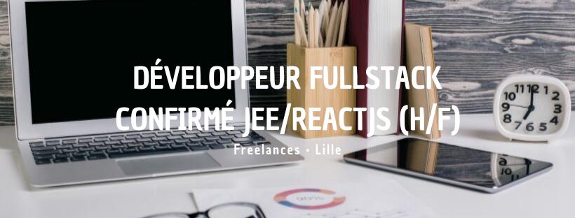 Développeur Fullstack confirmé JEE/ReactJS (H/F)