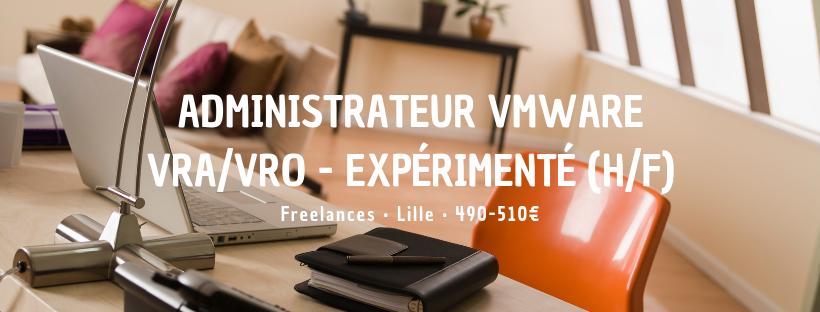 Administrateur VMware VRA/VRO - Expérimenté (H/F)
