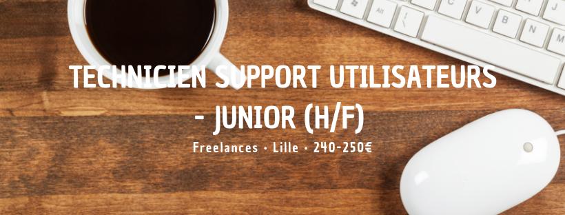 Technicien Support Utilisateurs - Junior (H/F)