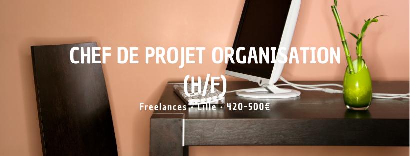 Chef de Projet Organisation (H/F)
