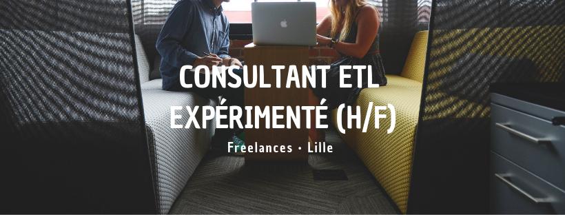 Consultant ETL expérimenté (H/F)