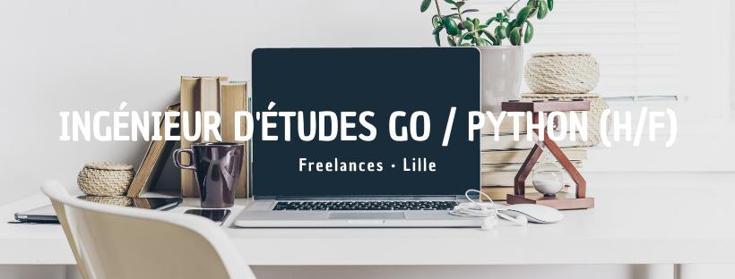 Ingénieur d'études Go / Python (H/F)