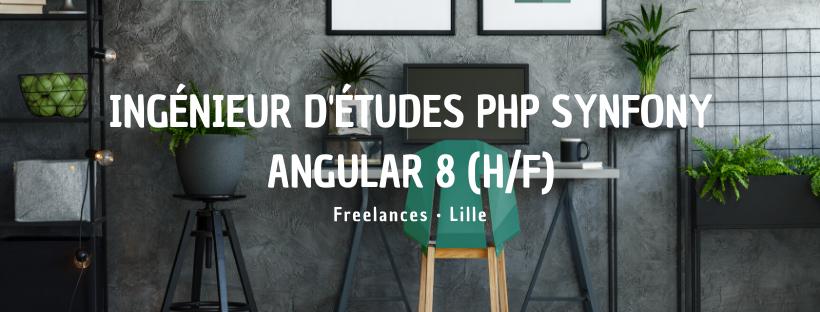 Ingénieur d'études PHP Synfony Angular 8 (H/F)