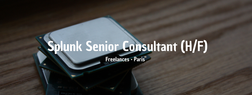 Splunk Senior Consultant (H/F)