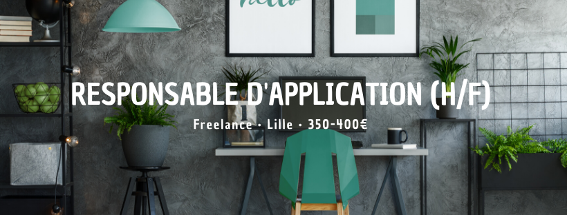 Responsable D'Application (H/F)