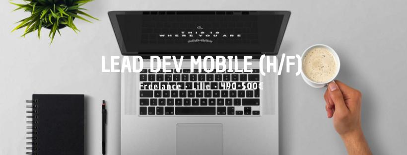 Lead Dev Mobile (H/F)