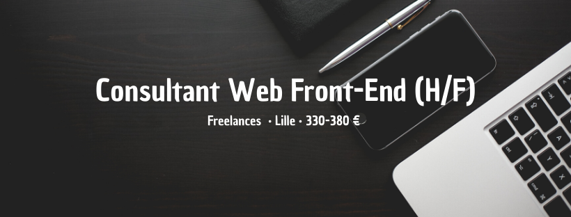 Consultant Web Front-End
