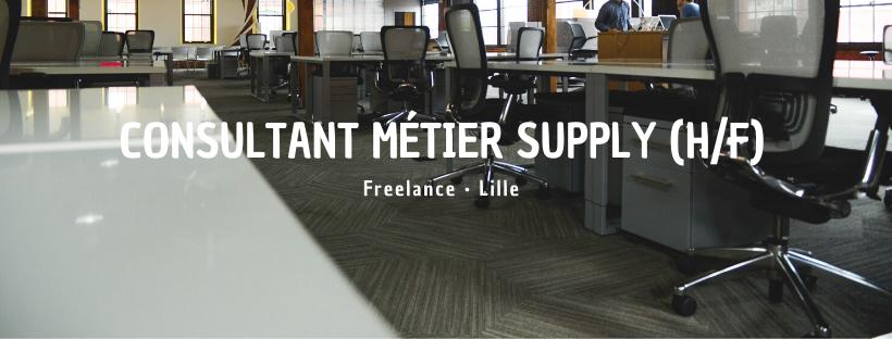 Consultant Métier Supply (H/F)