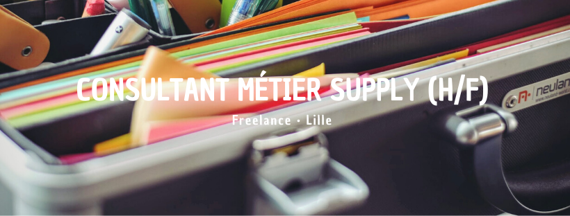 Consultant Métier Supply (H/F)