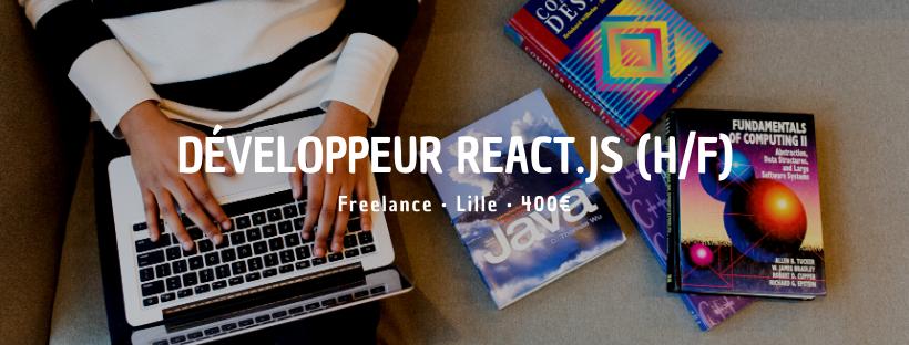 Développeur React.JS (H/F)