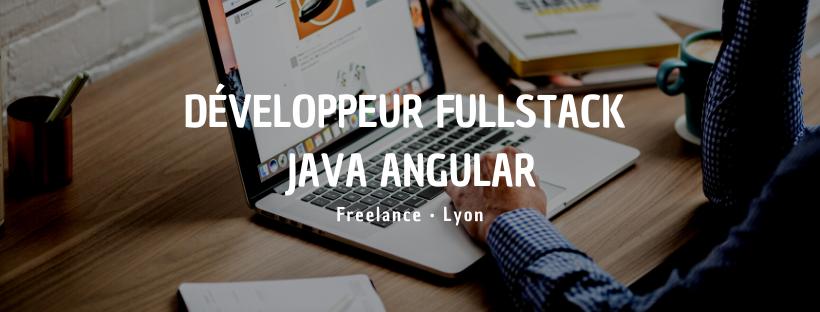 Développeur Fullstack Java Angular