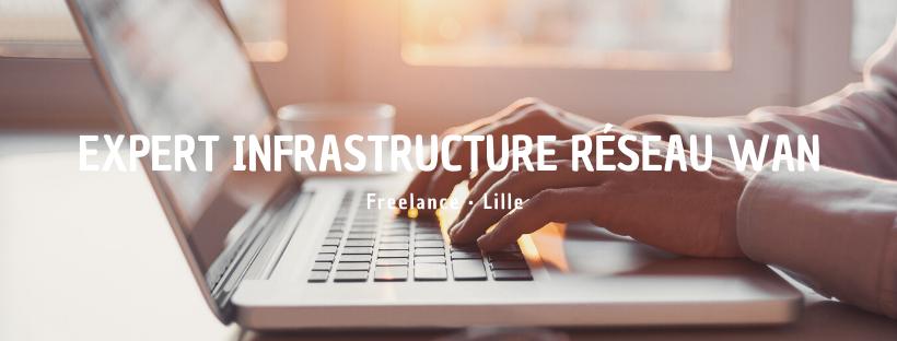 Expert Infrastructure Réseau WAN (H/F)