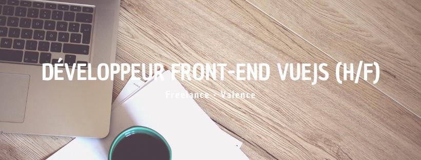 Développeur Front-End VueJS (H/F)