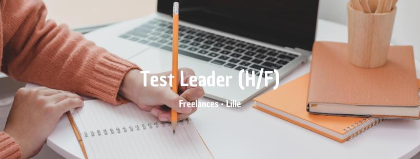 Test Leader (H/F)
