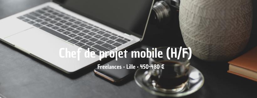 Chef de projet mobile (H/F)