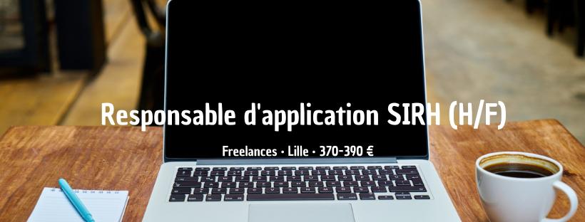 Responsable d'application SIRH